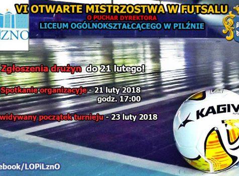 VI otwarte mistrzostwa Pilzna w futsalu