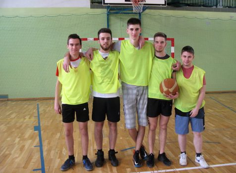 Mistrzostwa szkoły w koszykówce chłopaków