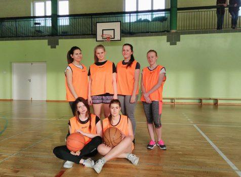 Mistrzostwa szkoły w koszykówce dziewcząt