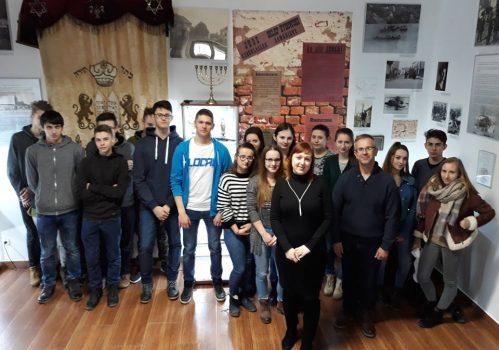 Wizyta klasy 1 w Muzeum Regionalnym w Pilźnie
