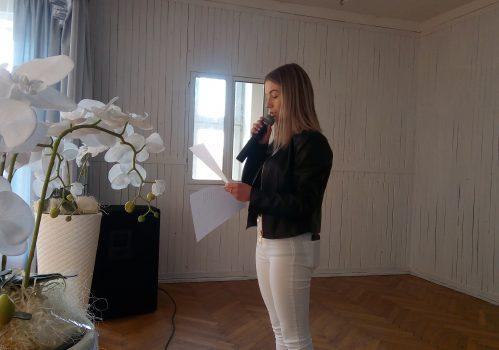 Salon poetycki w LO Pilzno