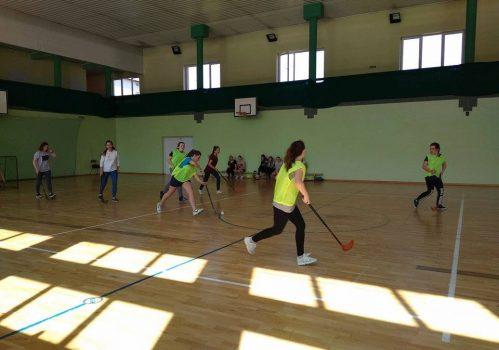Mistrzostwa szkoły w unihokeju dziewcząt