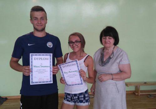 Mistrzostwa szkoły w badmintonie