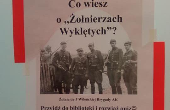 Co wiesz o Żołnierzach Wyklętych?
