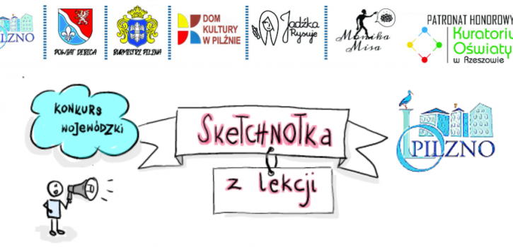 """Wojewódzki Konkurs """"Sketchnotka z lekcji"""" – Podsumowanie"""
